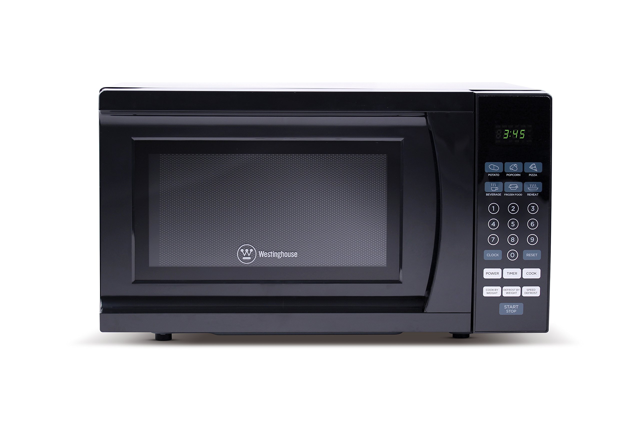 Westinghouse WCM770B 700 Watt Counter Top Microwave Oven, 0.7 Cubic Feet, Black Cabinet by Westinghouse (Image #3)