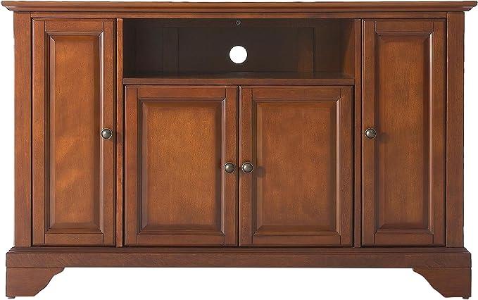 LAFAYETTE - Mueble esquinero para televisor de 48 pulgadas con acabado clásico de cerezo: Amazon.es: Juguetes y juegos