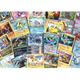100 Assorted Pokemon Trading Cards with 7 Bonus Free Holo Foils by Pok??mon