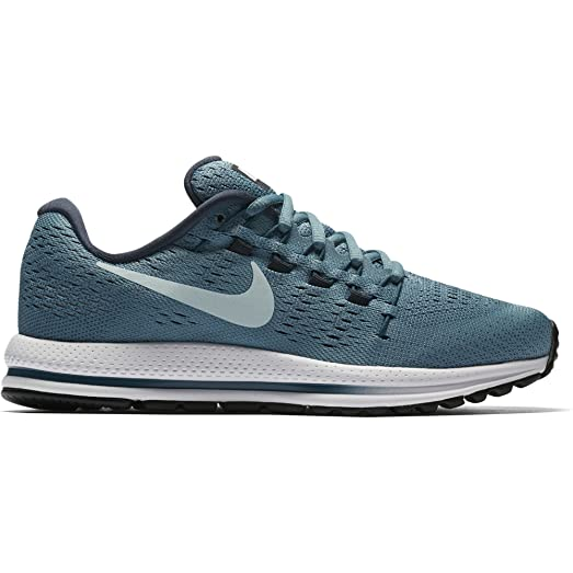 Nike Women's Air Zoom Vomero 12 Running Shoe CERULEAN/GLACIER BLUE-THUNDER  BLUE 11.0