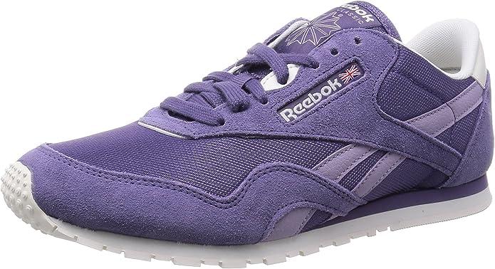 Reebok Cl Nylon Slim Colors, Zapatillas de Running para Mujer ...