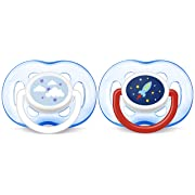 Philips Avent Freeflow Pacifier, 18+ months, Blue, SCF186/27, 2 count