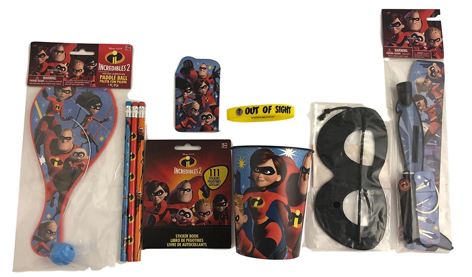 Prizes Generic Incredibles 2 Gift Basket Box for Kids Premade Prefilled for Birthday Get Well