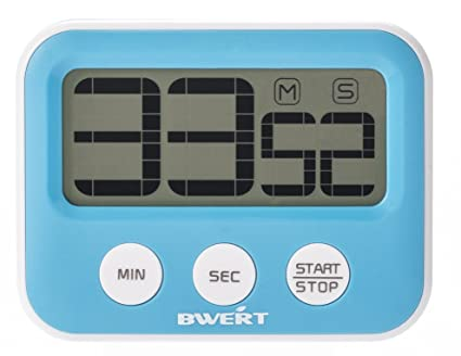Bwert Digital Kitchen Timers Large LCD Display Best Commercial Novelty  Desktop Countdown Count Up Timer Clock for Cooking With Strong Magnet Loud  ...