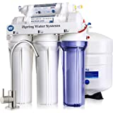 iSpring RCC7 High Capacity Under Sink 5-Stage Reverse Osmosis Drinking Filtration System and Ultimate Water Softener, 75…