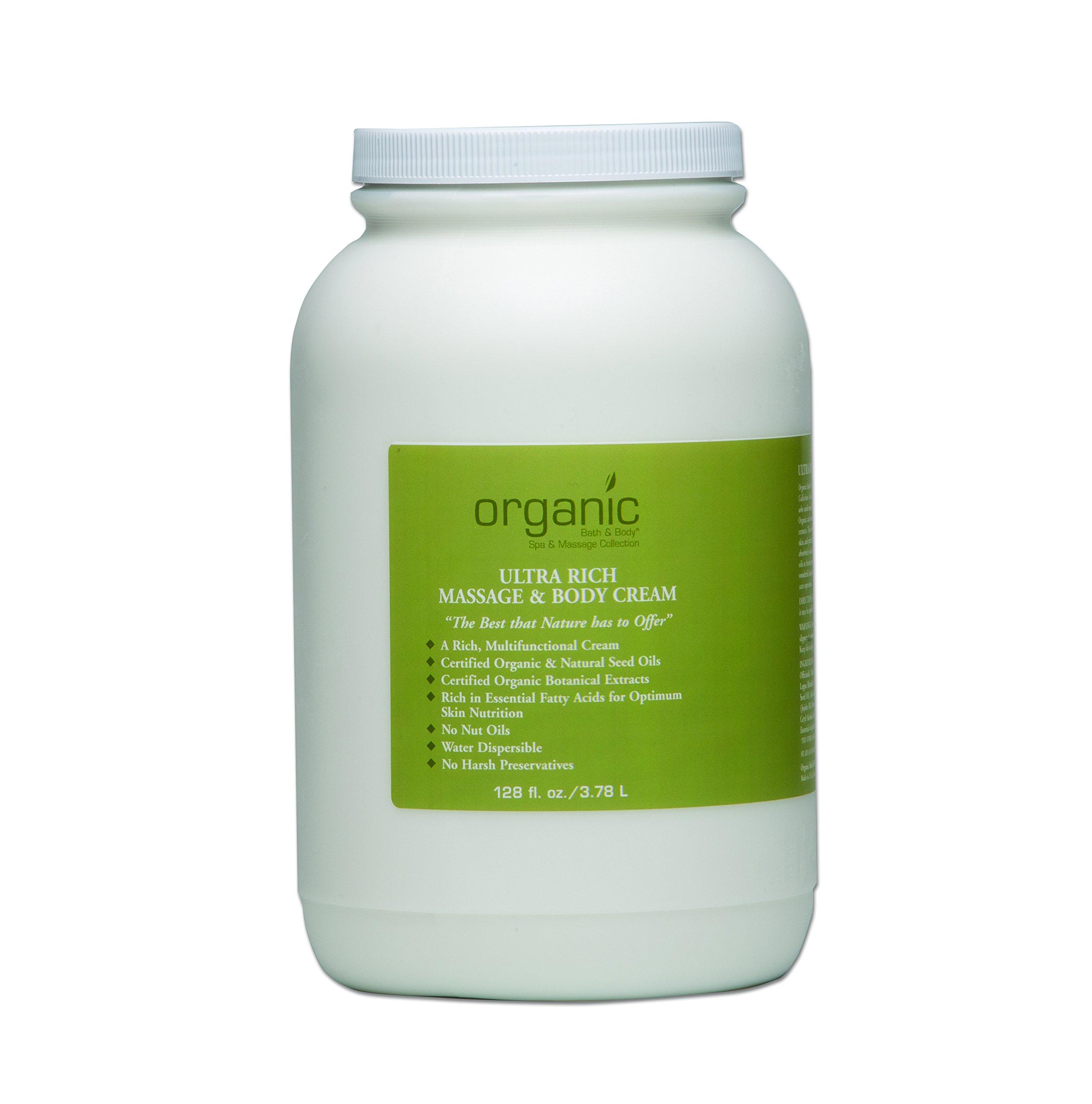 Ultra Rich Massage & Body Cream (formerly Dual Purpose Massage & Body Cream) - 128 oz