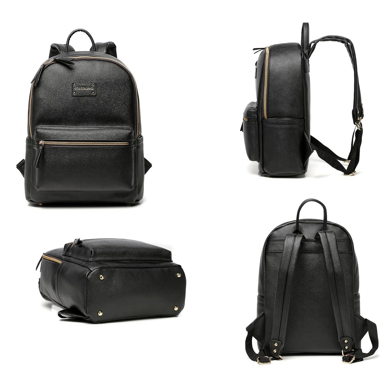 Amazon.com: Funda bolsa de pañales, perfecto mochila de piel ...