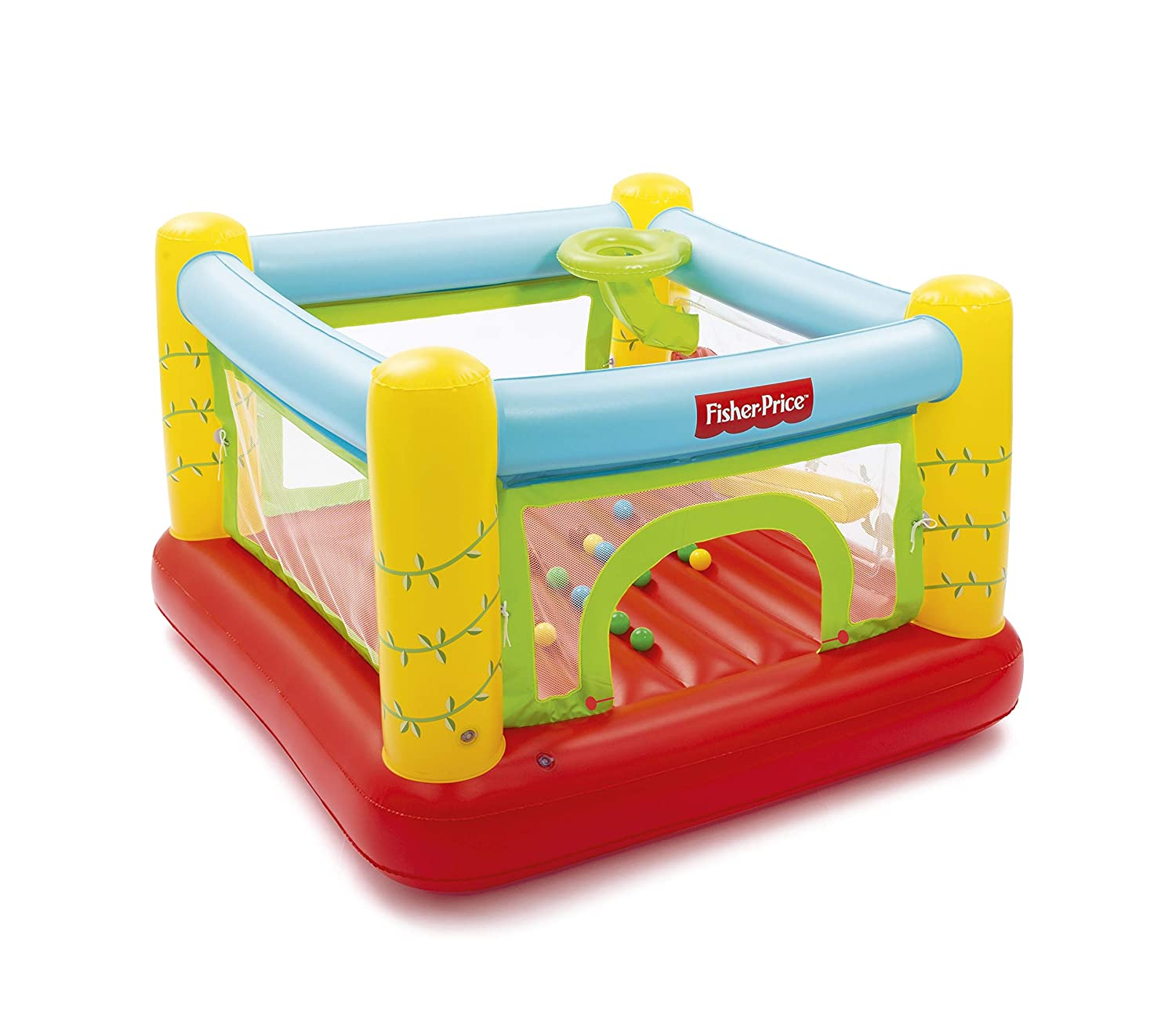 Bestway 93542-19 Fisher Price - Castillo Hinchable (175 x ...