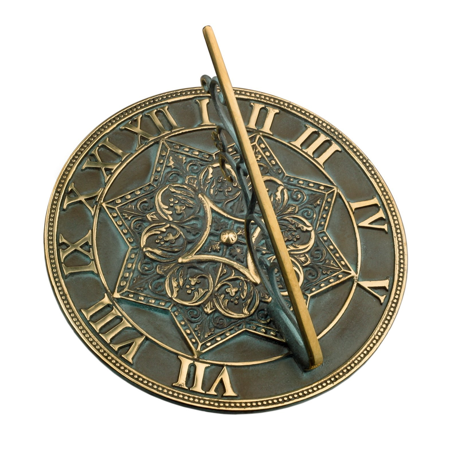 Rome RM2311 Brass Gothic Sundial by Rome Industries