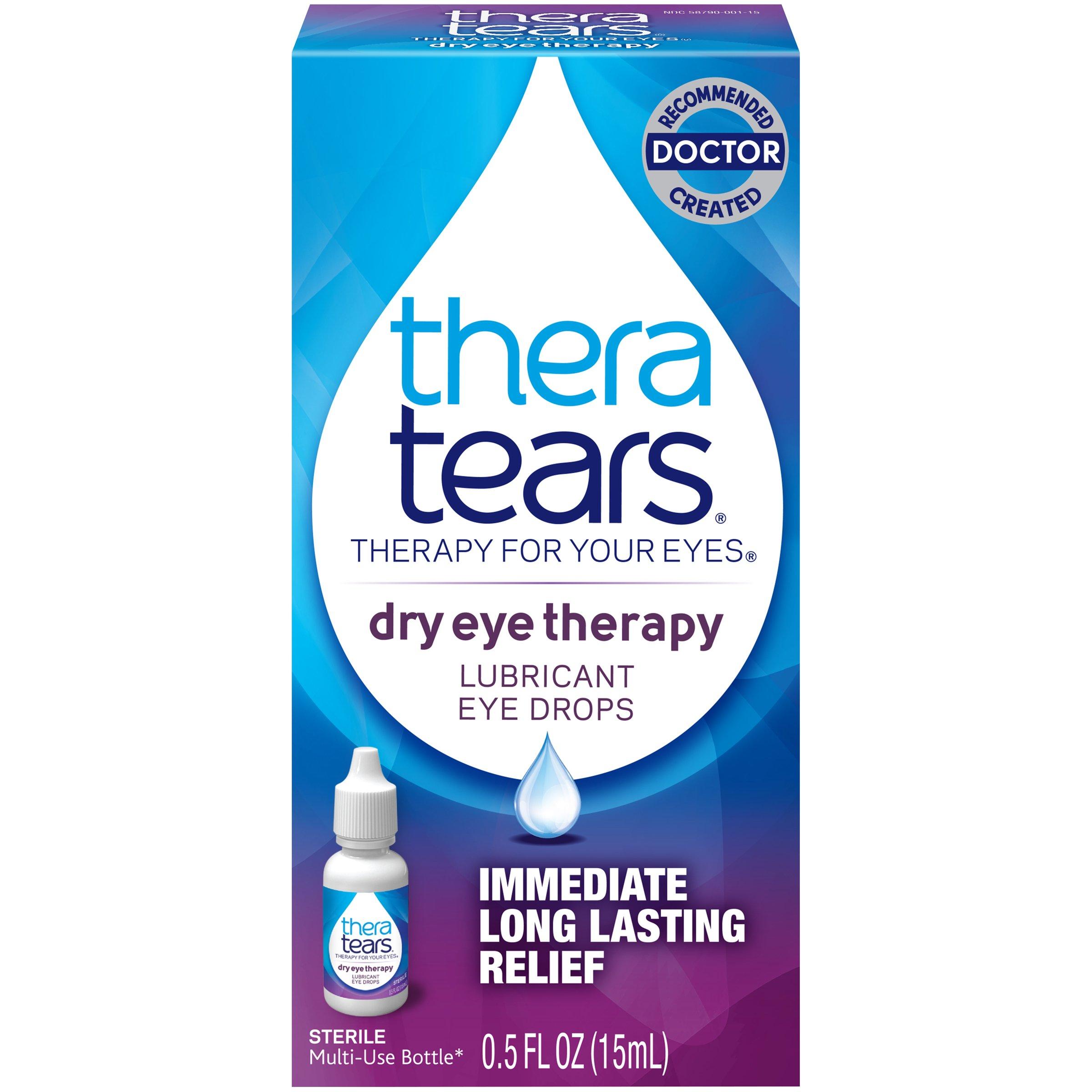 TheraTears Dry Eye Therapy- Lubricant Eye Drops- 0.5 FL OZ(15 mL)