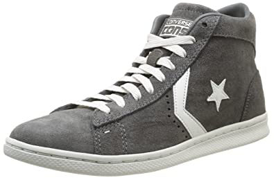 SCARPE CONVERSE PRO LEATHER LP MID DARK CHOCOLATE MID 135169C pelle N. 395