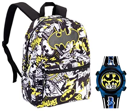 22ef014e39a Buy Batman Standard Size School Backpack and Light Up Watch - Kids ...