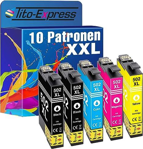 PlatinumSeries 10 cartuchos compatibles con XXL para Epson TE ...
