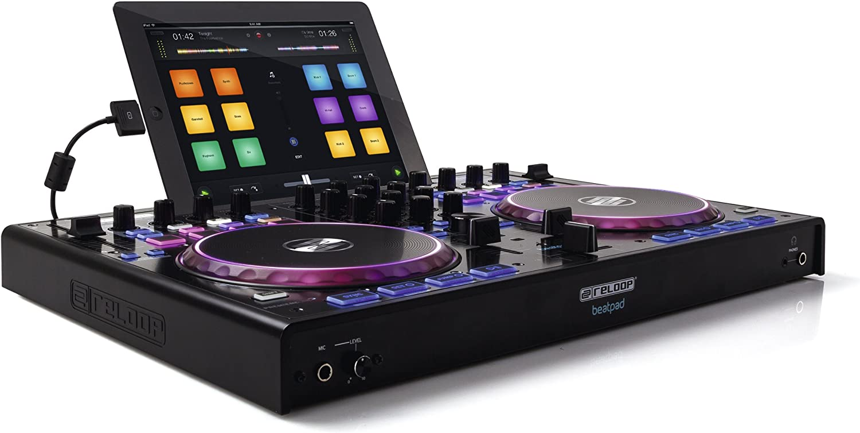Amazon.com: Reloop Beatpad Professional 4-Channel DJ Controller ...