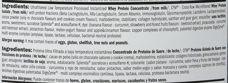 Amix Whey Pure Fusion 1 kg Moca-chocolate-cafe: Amazon.es: Salud y ...