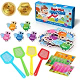 Shemira Sight Word Swat Game, Sight Word Educational Toy For Age of 3,4,5,6,7-Year-Old Boys & Girls, Homeschool, Phonics…