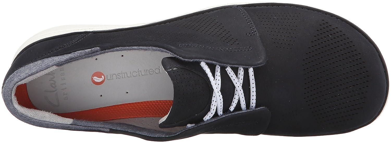 CLARKS Women's UN Voltra Walking Shoe B013JM097E 9 B(M) US Navy