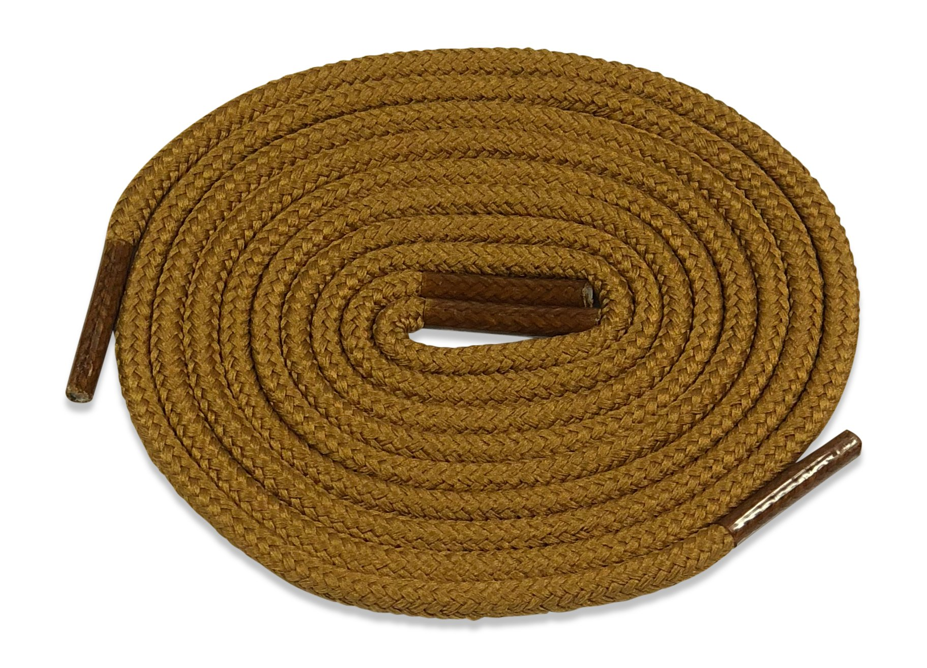 Fintoco Heavy Duty Boot Laces - 30 Inches Tan Shoelaces