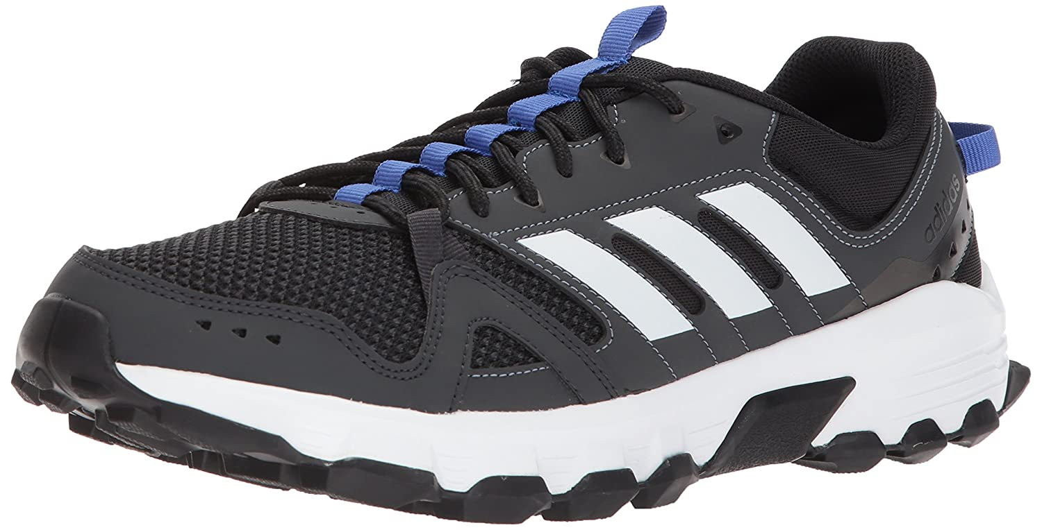 best sneakers e9094 9898d ... italy amazon adidas mens rockadia trail m running shoe collegiate navy  matte silver solar orange 13 ...