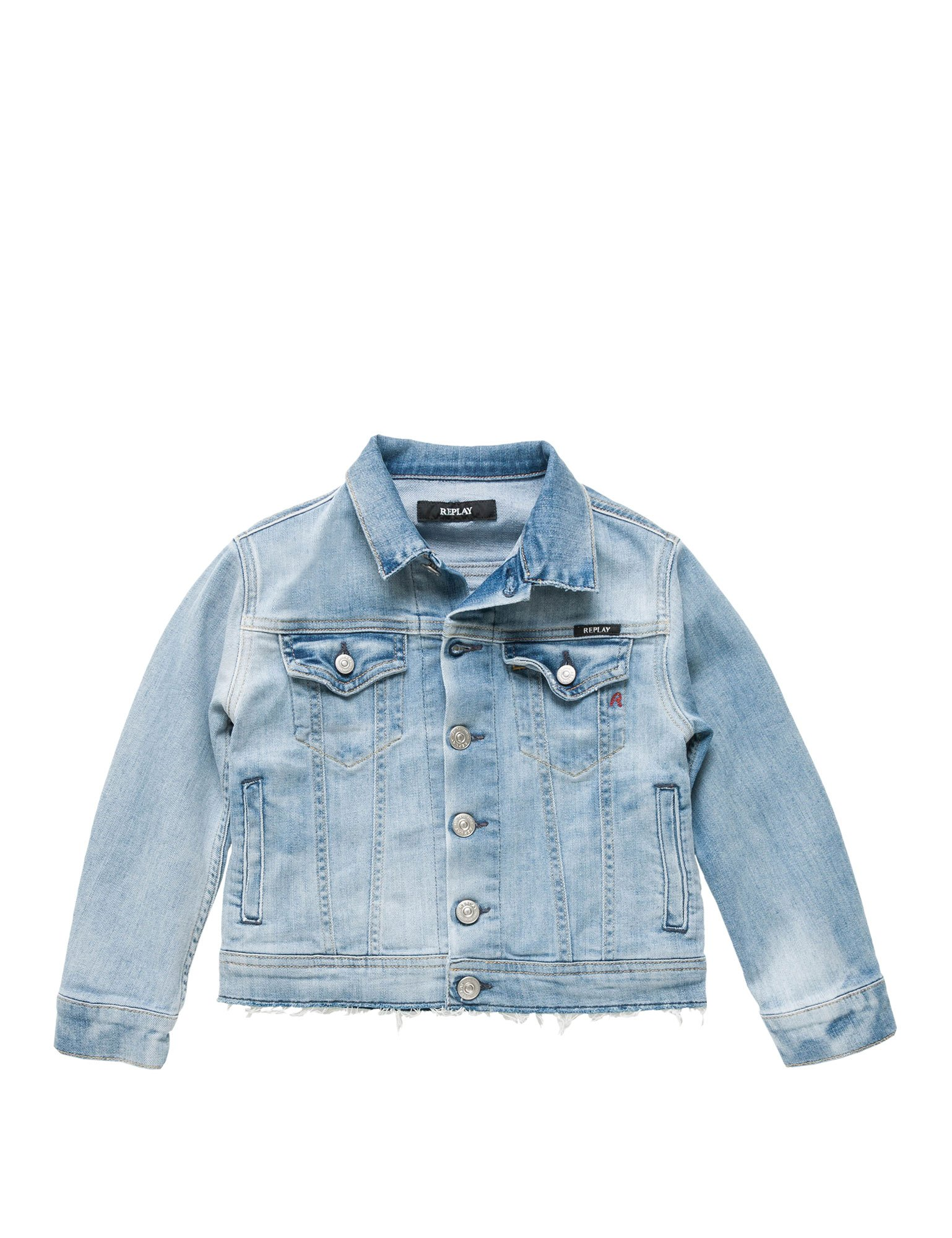 Replay Deep Comfort Girl's Jacket Blue in Size 8 Years