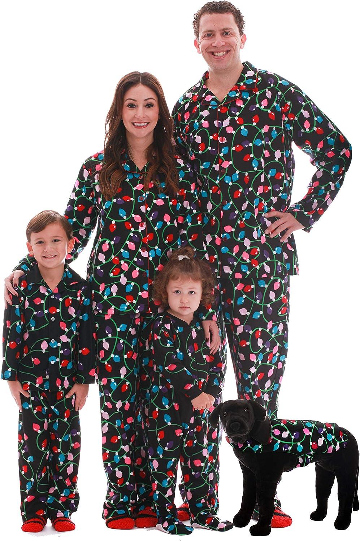 #followme Matching Christmas Pajamas for Family and Couples