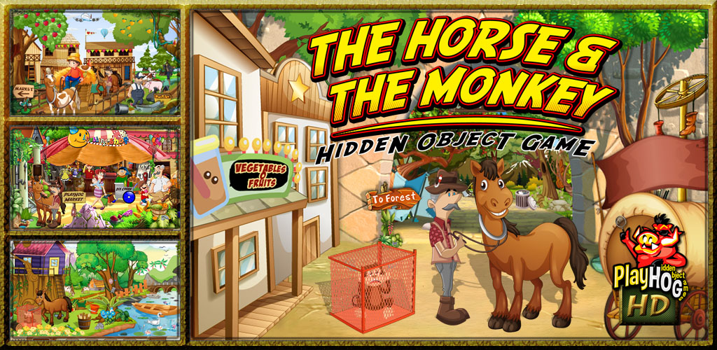 Amazon.com: New Free Hidden Objects Game - The Horse & The ...