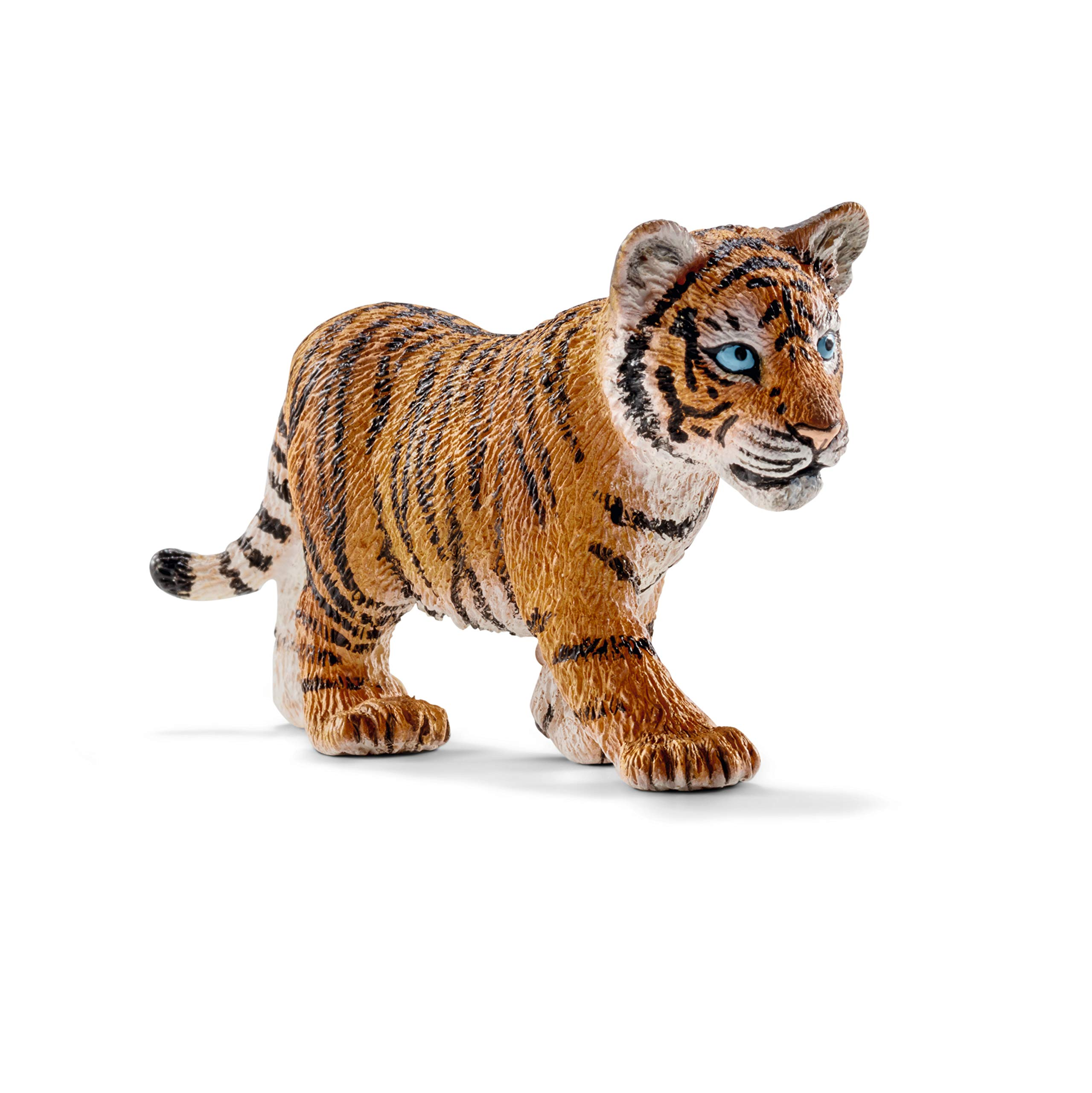 Schleich Wild Life, Animal Figurine, Animal Toys for Boys and Girls 3-8 years old, Tiger Cub