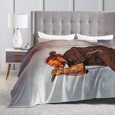 "ZAZAHUI Austin Richard Post Ultra-Soft Micro Fleece Blanket Soft and Warm Digital Printed Blanket Flannel Malone Throw Blanket for Children/Adults (60"" X 50""): Home & Kitchen"