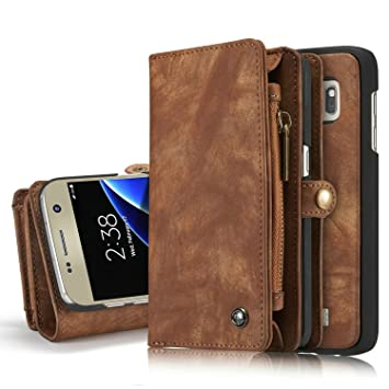 Excelsior Leather Multifunctional Wallet Flip Cover Case for Apple iPhone 7   Coffee Mobile Phone Cases   Covers
