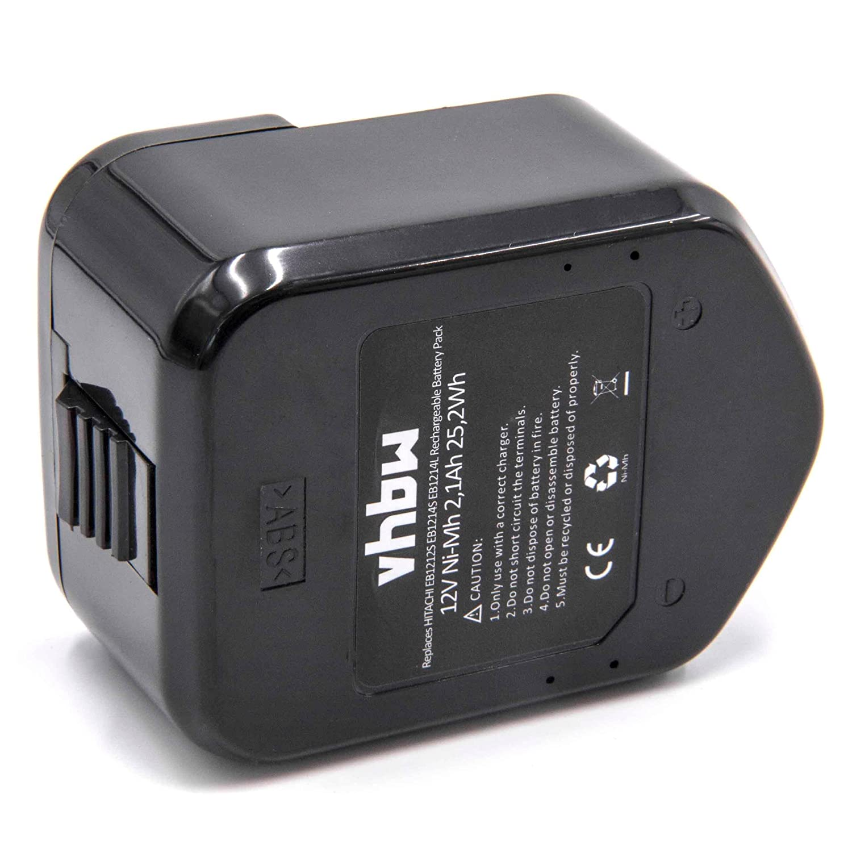 vhbw Batería Ni-MH 2100mAh (12V) para herramientas WR 12DAF ...