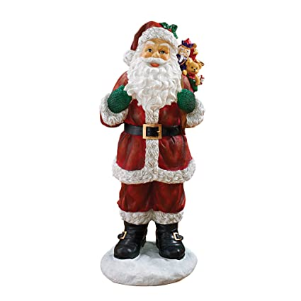 Amazon.com : Christmas Decorations - A Visit from Santa Claus and ...