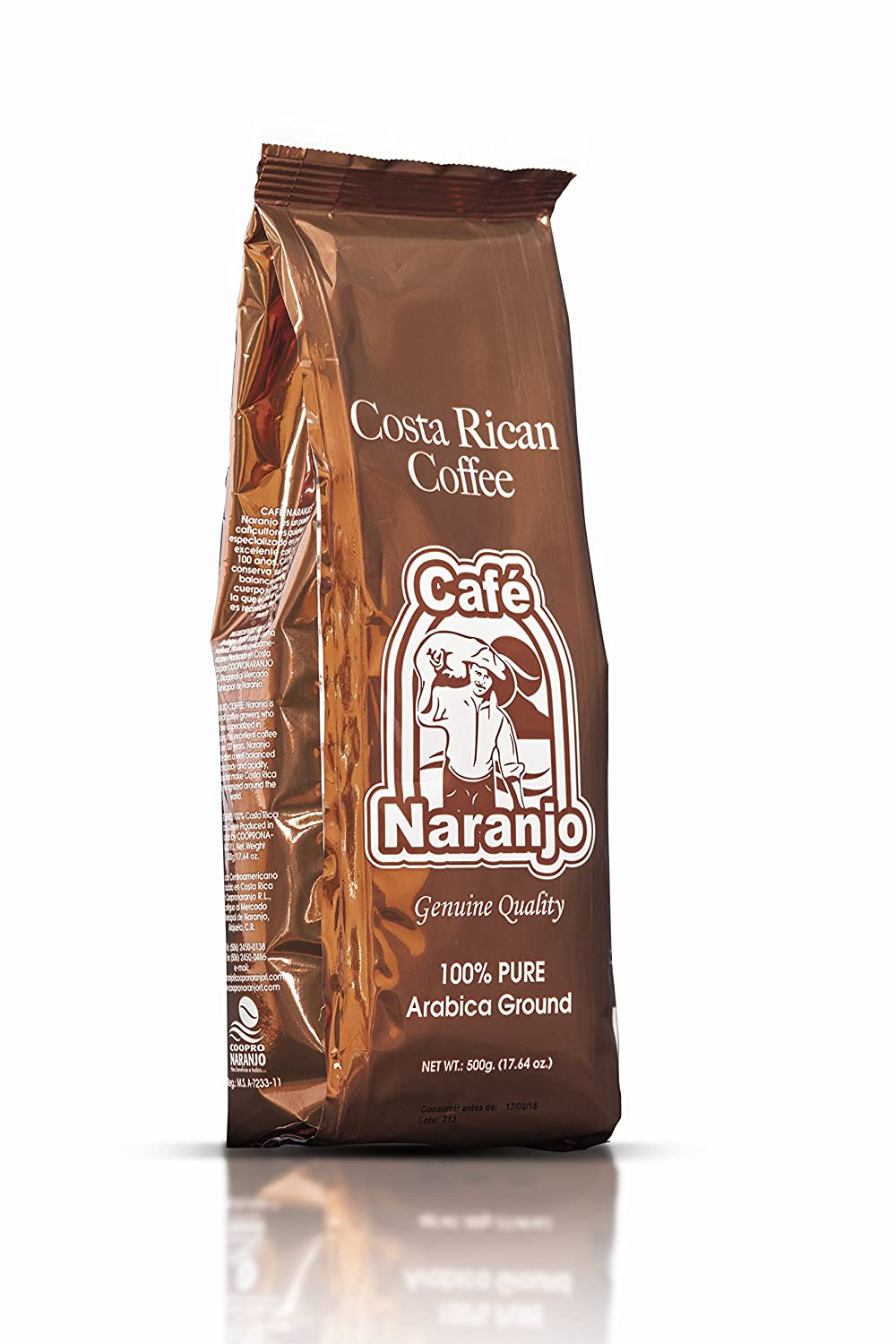 Amazon.com : Costa Rican Coffee Café Naranjo - Ground 1000g : Grocery & Gourmet Food