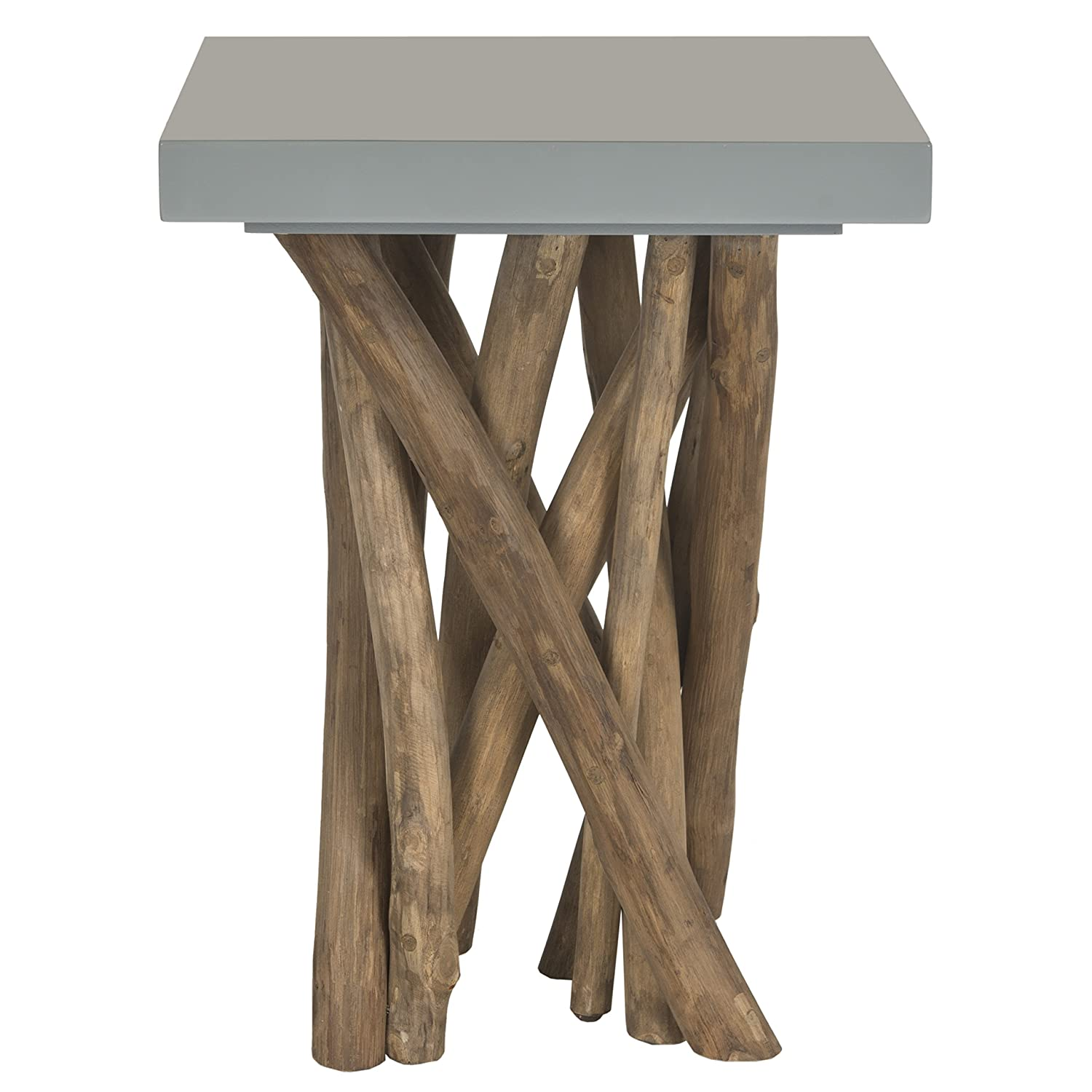 Superior Amazon.com: Safavieh Home Collection Hartwick Grey Side Table: Kitchen U0026  Dining