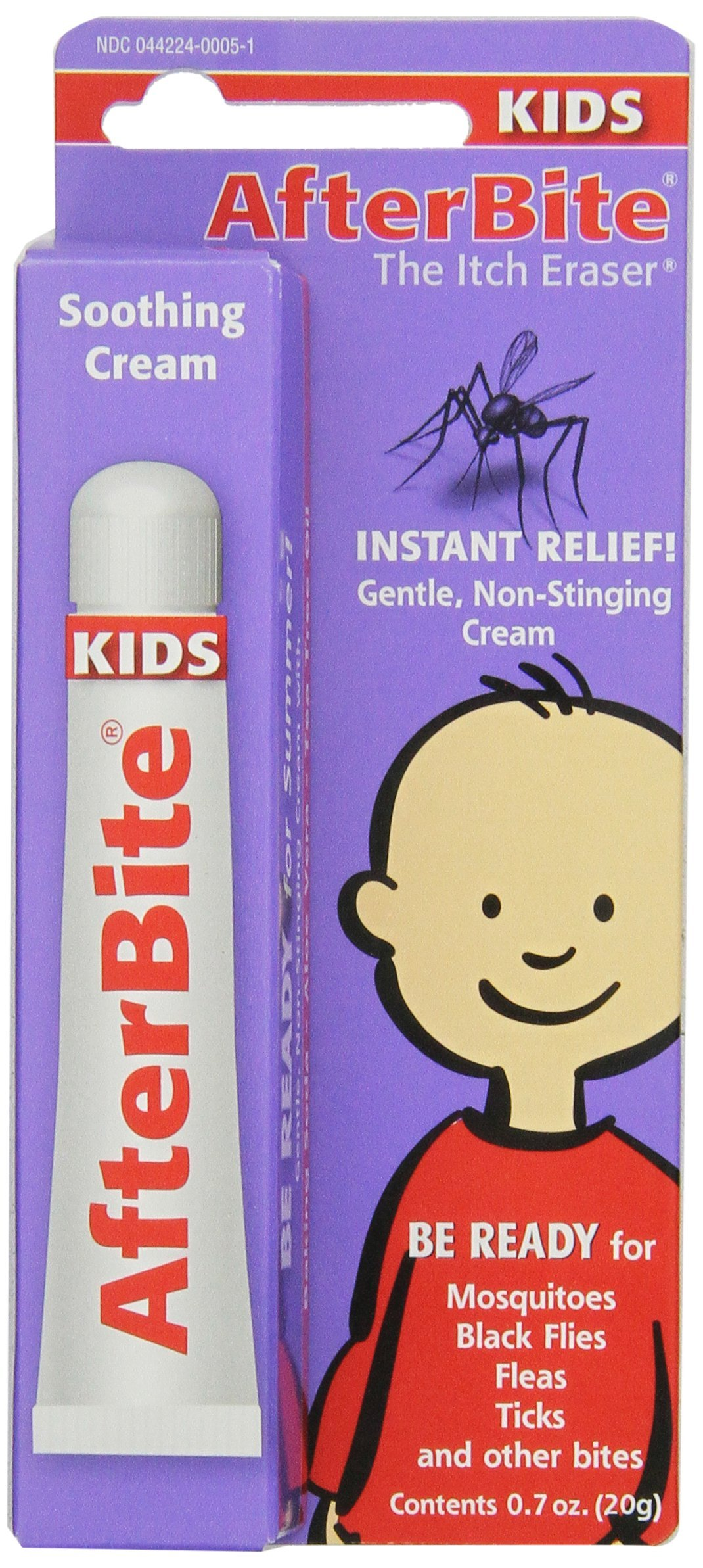 After Bite The Itch Eraser Soothing Cream For Kids 0.7 Oz (Pack of 6)