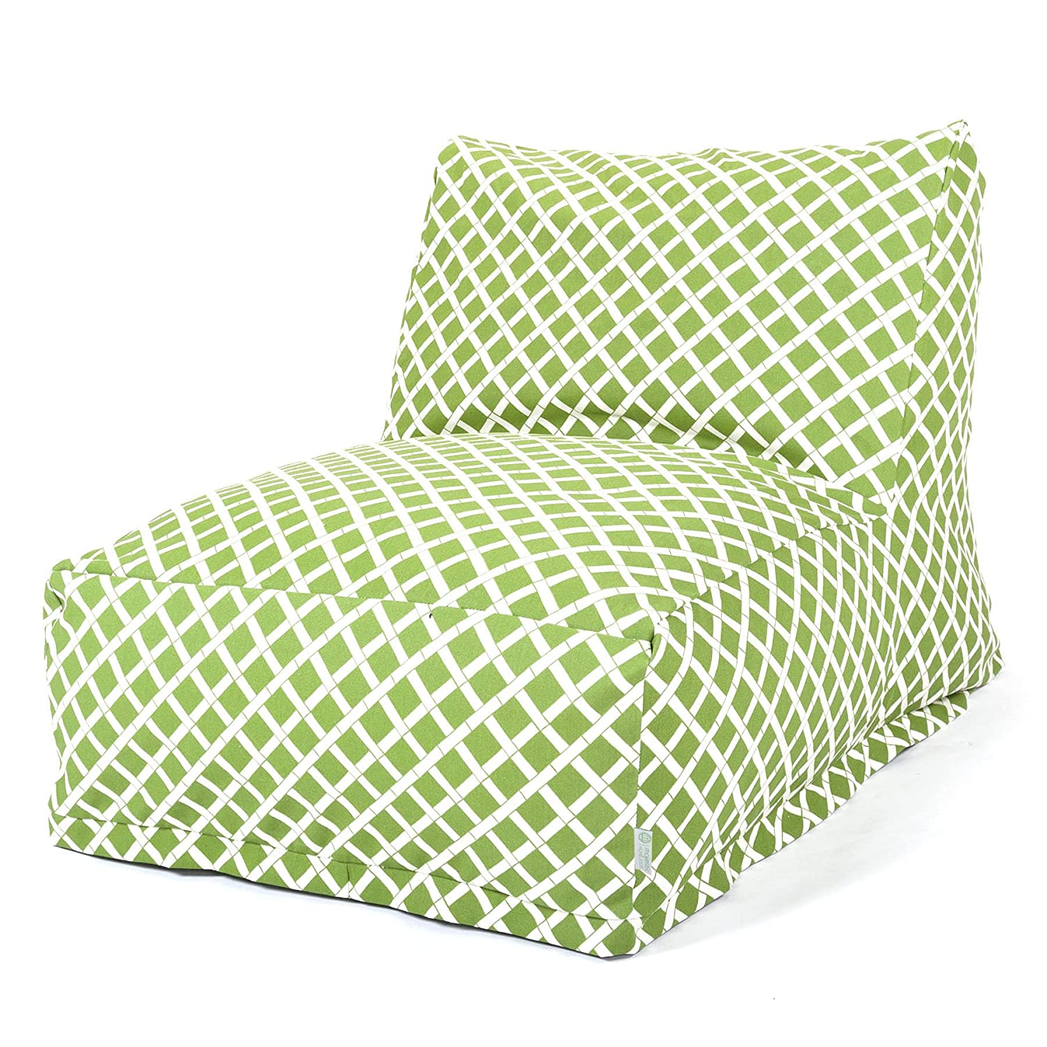 Amazon Majestic Home Goods Sage Bamboo Bean Bag Chair Lounger