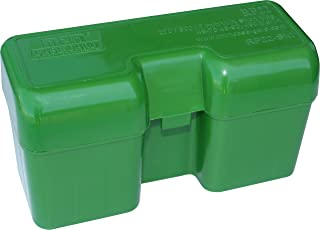 product image for MTM 22 Round Flip-Top Rifle Ammo Box 300-375 Rem Ultra Mag, 416 Rigby (Large Mag, Green)