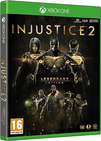 Injustice 2 - Legendary Edition: Amazon.es: Videojuegos