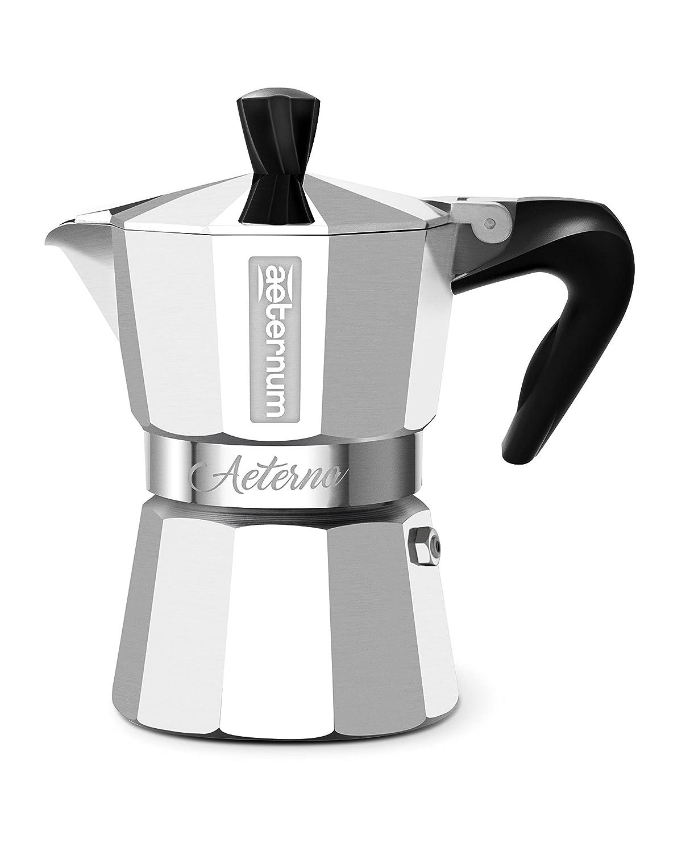 Bialetti 5091 Espressokocher 1 Tasse, Aluminium, Silber, 30 x 20 x 15 cm