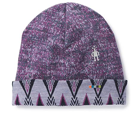 67ec53c8ff0 Amazon.com  SmartWool Merino 250 Pattern Cuffed Beanie Dark Blue ...
