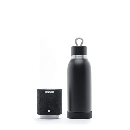 Steel Insulated Hydration Bottle with Rechargeable Bluetooth Wireless Speaker
