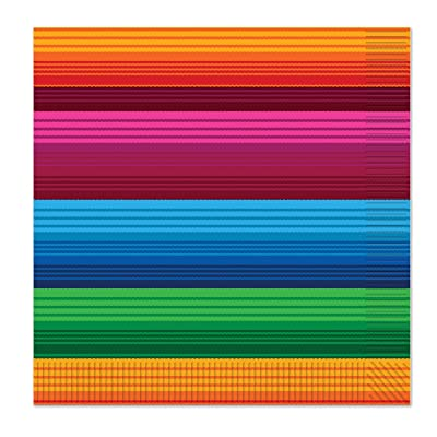 Beistle Fiesta Luncheon Napkins, Multicolored (Value 3-Pack): Toys & Games