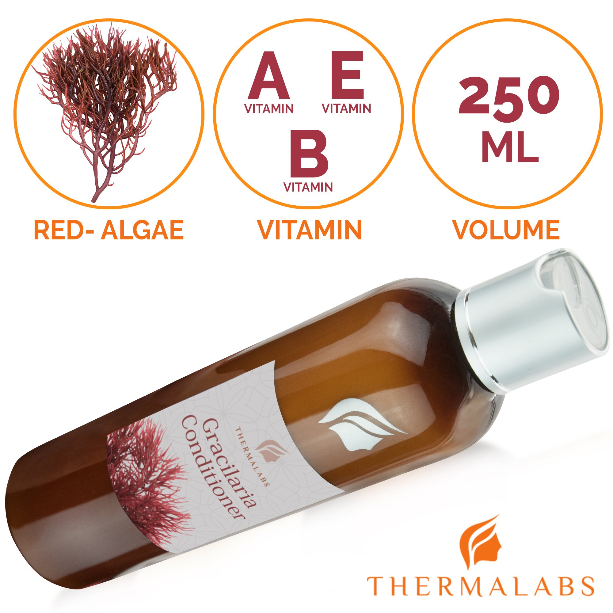 Hair Loss Treatment Conditioner, Natural Organic Thickening Volumnizing Haircare Ointment for Men & Women. Algae Treatment for Receding Hairline & Dandruff, Regrowth Therapy: Have Healthy Hair by Thermalabs (Image #7)