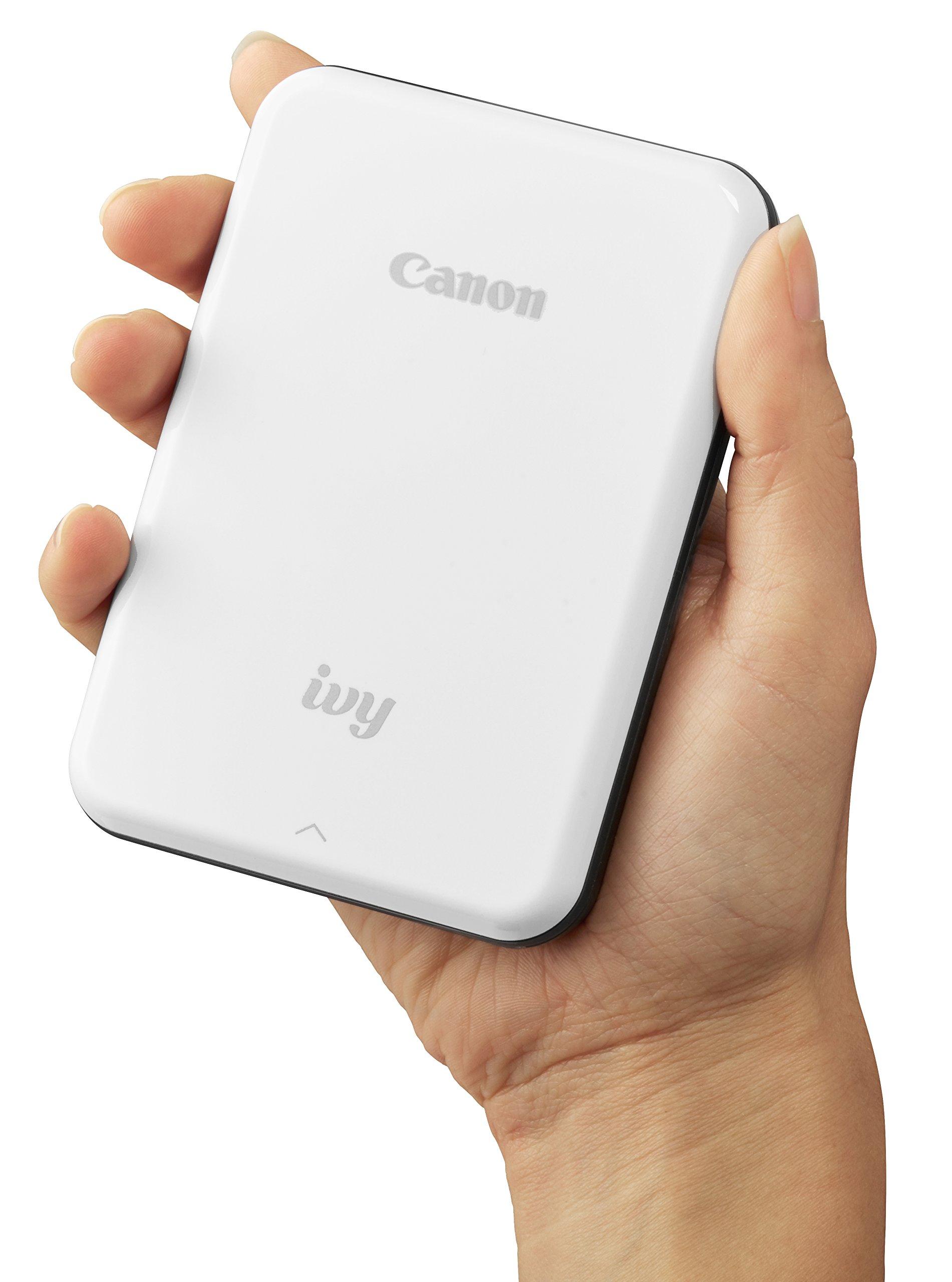 Canon IVY Mobile Mini Photo Printer through Bluetooth(R), Slate Gray by Canon (Image #6)
