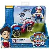 Playset Veicolo RYDER con personaggio da PAW PATROL Quad Rescue ATV Originale SPIN MASTER