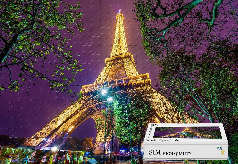 【オープニング 大放出セール】 木製 接着剤付き - 34.4 パリフランスエッフェル塔 34.4 X B07HY7PWWM 22.6インチ - X 1500ピースジグソーパズル B07HY7PWWM, GOLDSPACE:04292a83 --- sinefi.org.br