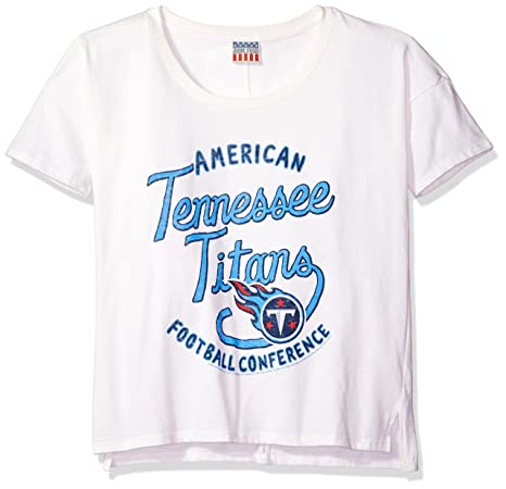 Amazon.com   NFL Tennessee Titans Junk Food Clothing Women s Vintage ... 978f468a3