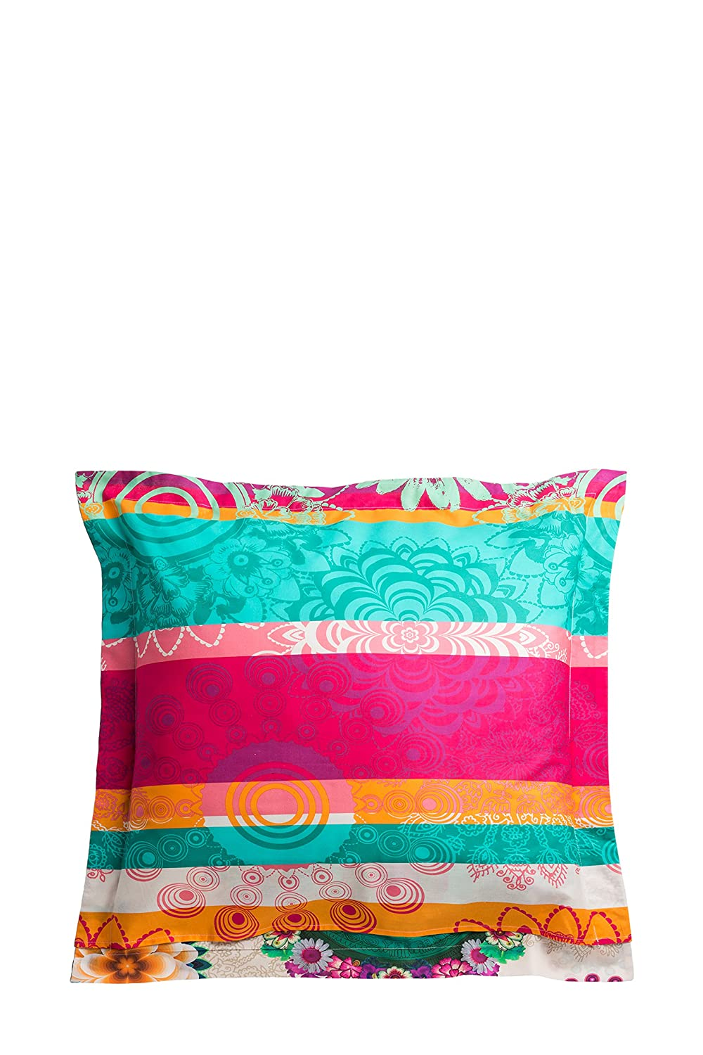 Amazon.com: Desigual.-Funda de almohada decorativos Happy ...