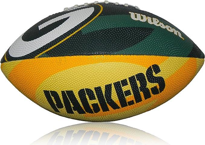 Wilson Football NFL Junior Greenbay Logo Junior - Balón de fútbol ...