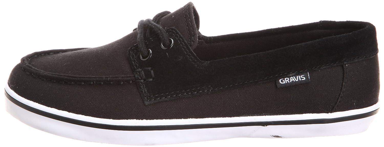 GRAVIS YACHTMASTER WNS 268910 - Zapatos clásicos de lona para mujer, color negro, talla 35.5