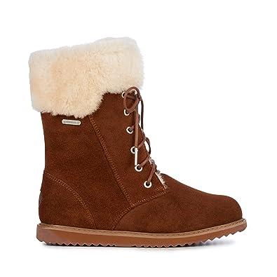 166e1a13b4e Amazon.com | EMU Australia Shoreline Womens Waterproof Sheepskin Boots |  Snow Boots